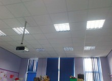 Primary School Suspended Ceiling Installation - Waller Building Services