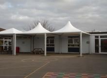 School Canopies - Waller Building Services
