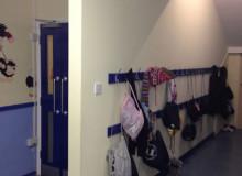New School Cloakroom Area - Waller Building Services - Kent