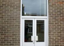 New Aluminium Double Doors - Waller Glazing Services