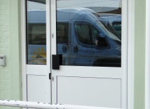 Aluminium Door - Waller Glazing Services