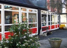 School Library Window Replacement - Kent - Waller Glazing Services
