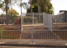 New School Pedestrian Entrance - Waller Building Education Services Kent