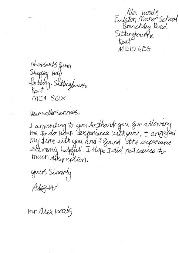 Search Results For Business Thank You Letter Customer