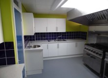 School Kitchen Refurbishment - Waller Building Services - Kent