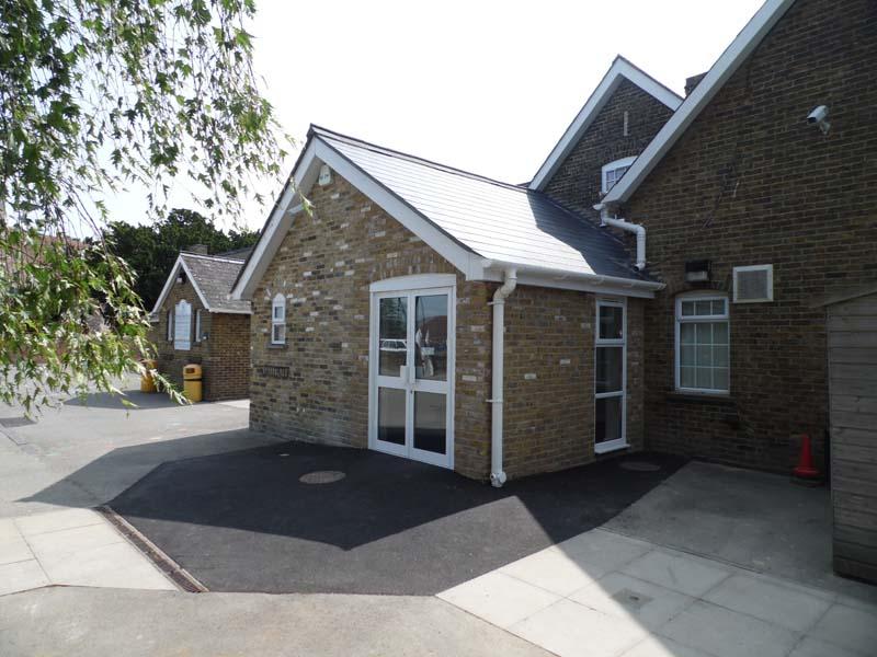Primary School Reception Extension - Waller Building Services - Kent