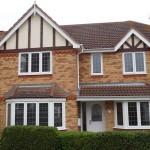 Leaded Light Double Glazing Window Installation - Waller Glazing Services -Kent