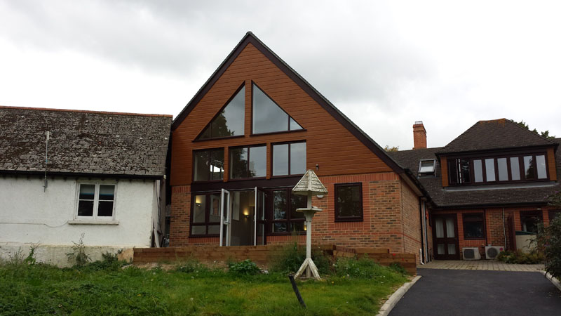 Hospice Extension - Waller Services - Kent
