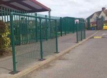 School Safety Barriers - Waller Building Services