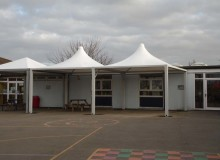 School Canopies - Waller Building Services
