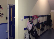 New School Cloakroom Area - Waller Building Services - Kent