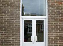 New Aluminium Double Doors - Waller Glazing Services