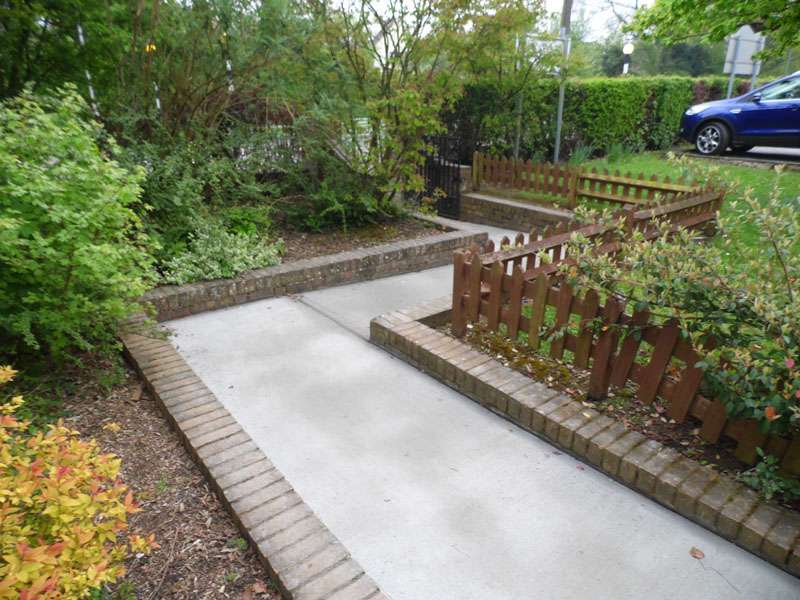 New Access Pathway - Waller Building Services