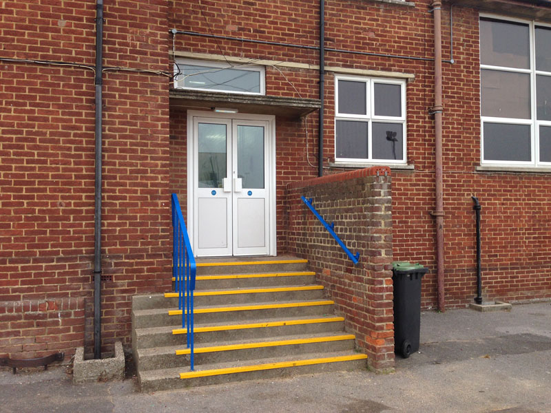 Blocked Fire Exit Re-opening - Waller Building Services - Kent