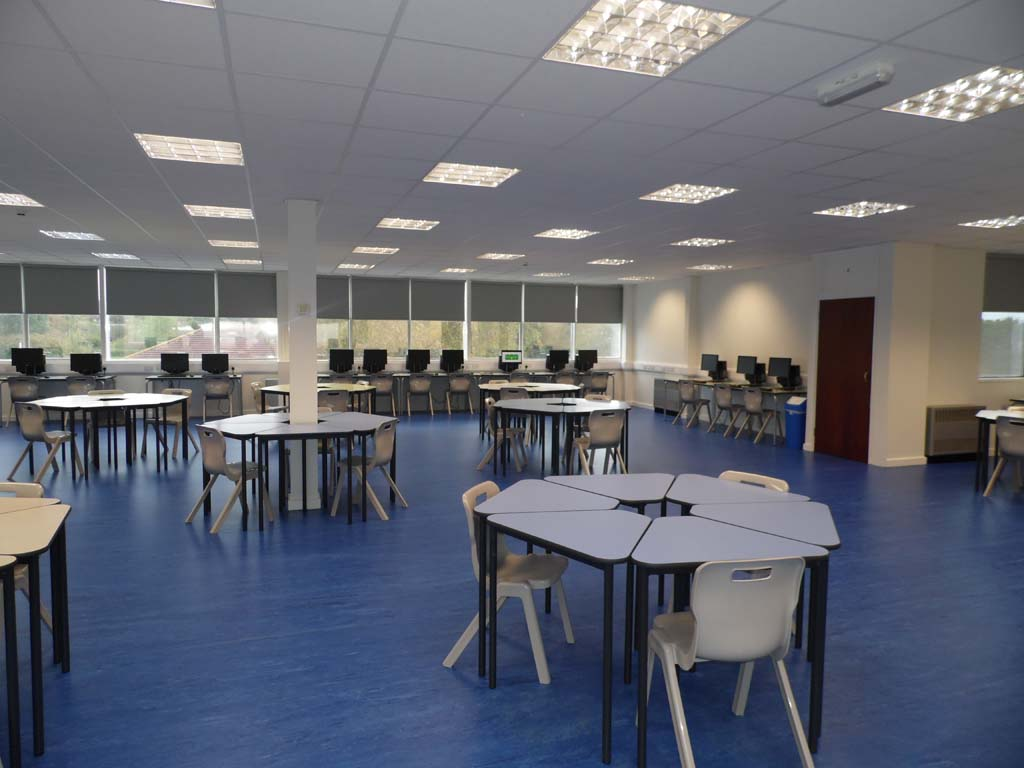 Six Form Study Room - Waller Building Services - Kent