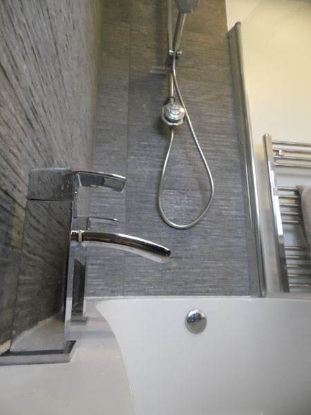 New Family Bathroom - Waller Building Services - Kent