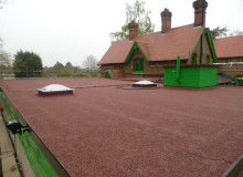 Flat Roof Replacement - Waller Building Services - Kent