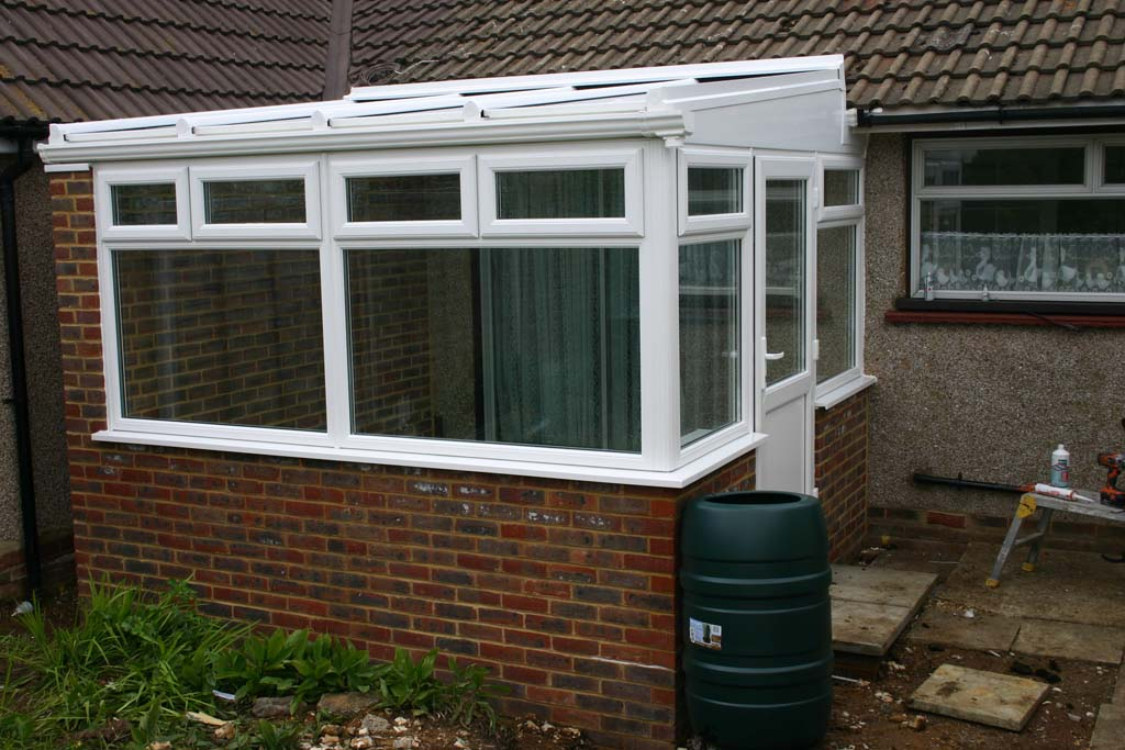 Conservatory with Self Cleaning Ultraframe Roof - Waller Glazing Services - Kent