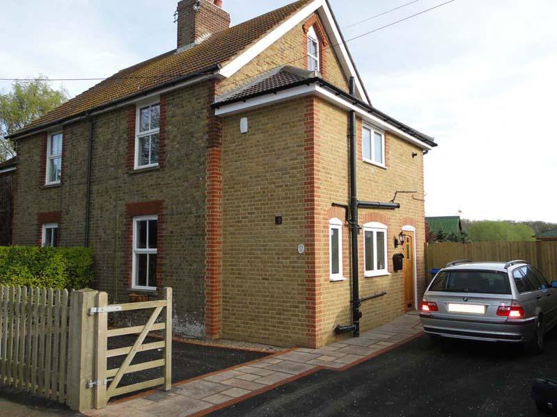 Goodnestone Cottages - Waller Building Services - Kent