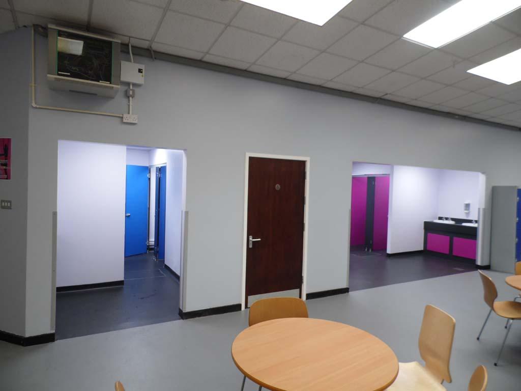 MFL Concourse Toilet Refurbishment - Waller Building Services - Kent