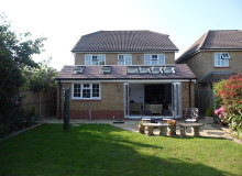 Private Property Rear Extension - Waller Building Services Kent