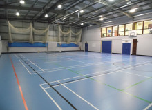 Sports Hall Refurbishment - Waller Building Services - Kent