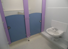 Nursery Toilet Refurbishment - Waller Building Services - Kent