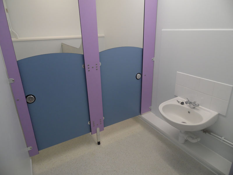 Nursery Toilet Refurbishment - Waller Building Services - Kent