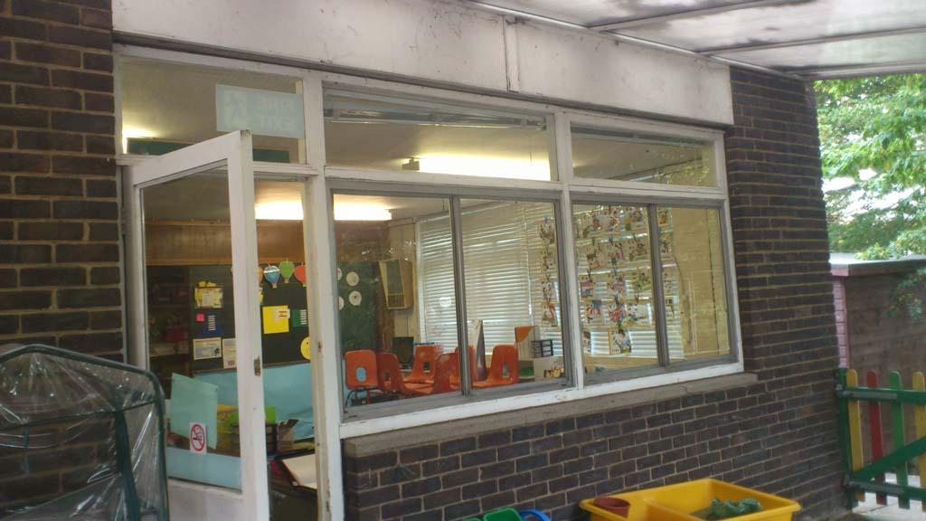School Window & Door Installation -Waller Building & Glazing Services- Kent