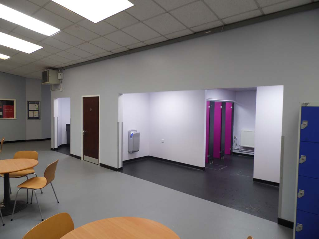 School Toilet Installation -Waller Building & Glazing Services in Kent