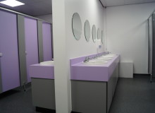 School Toilet Refurbishment - Waller Glazing Services in Kent
