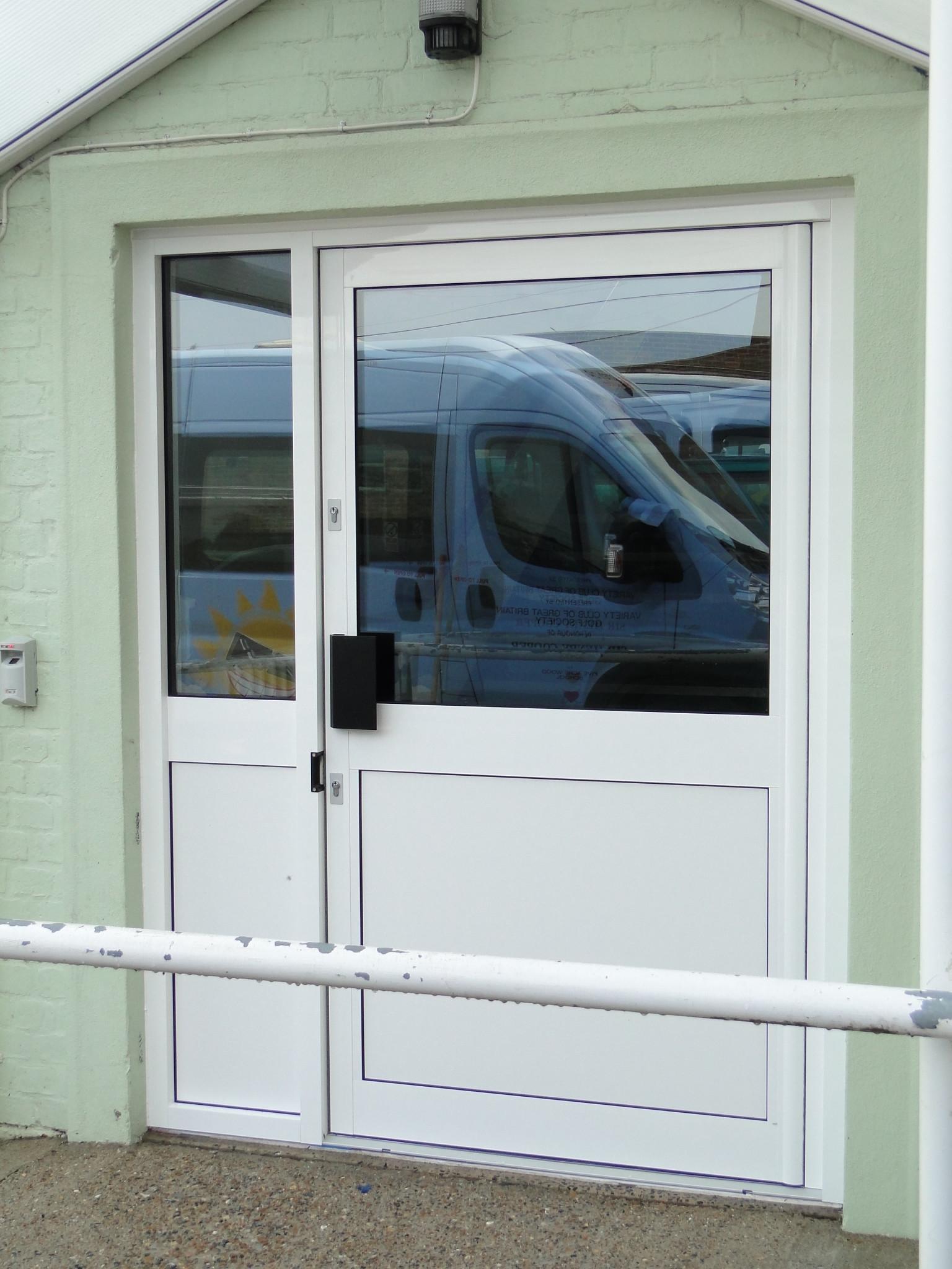 Aluminium Door - Waller Glazing Services