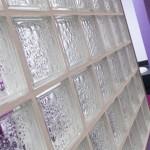 Glass Block Screen - Waller Building & Glazing Services in Kent