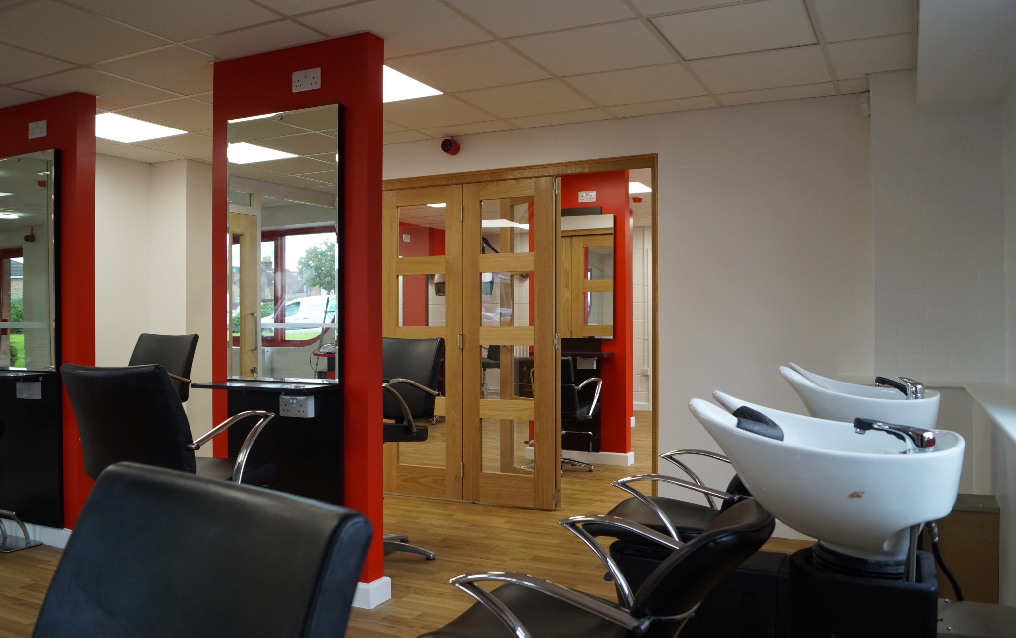 Hair Salon & Beauty Treatment Room - Waller Building Services Kent