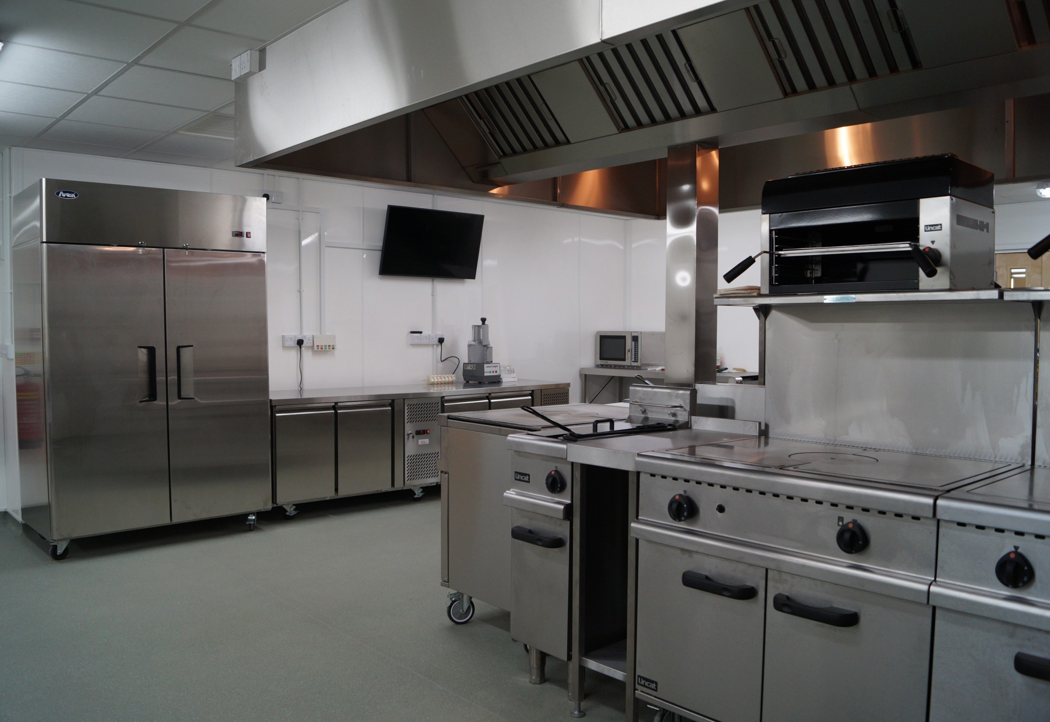 Reception, Coffee Shop, Catering Kitchen, ITC Suites - Waller Services Kent