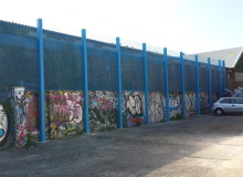 Youth Club Security Fencing & Anti-Climb Measures - Waller Services in Kent