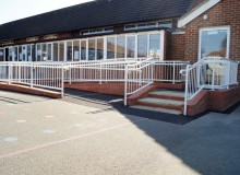 School Disabled Access Ramp - Waller Building Services - Kent