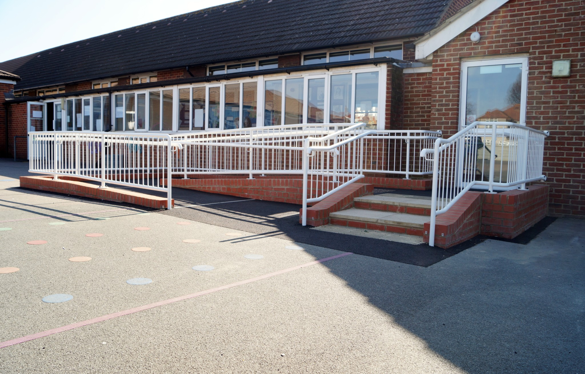 School Disabled Access Ramp - Waller Building Services - Kent