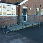 Replacement Disabled Access Ramp - Waller Services Kent