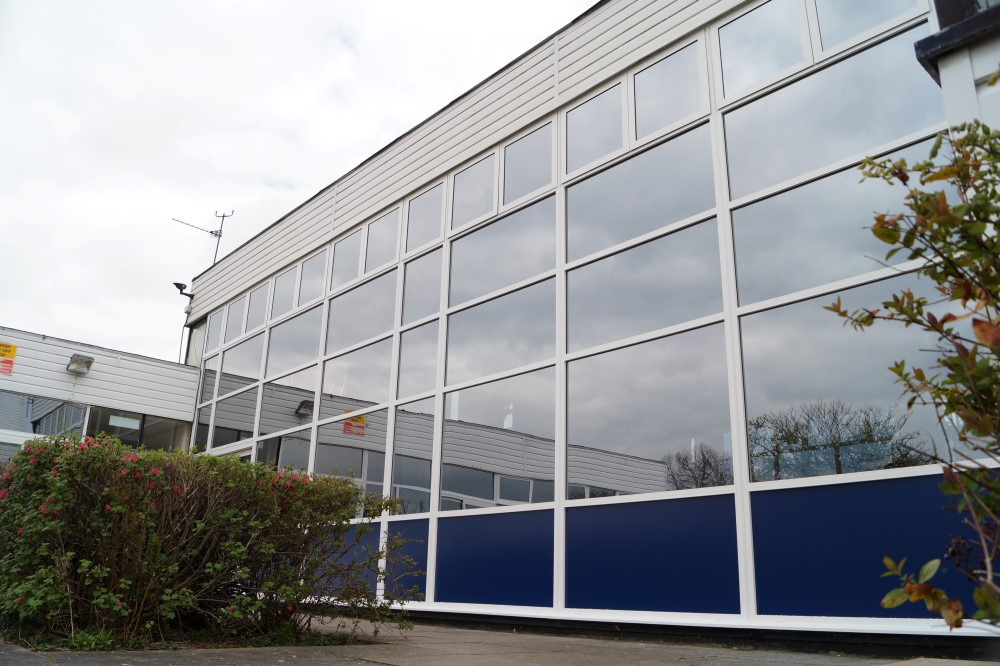School Aluminium Window Replacement - Waller Glazing Services