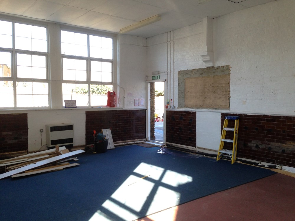 Nursery Refurbishment - Waller Building Services - Kent