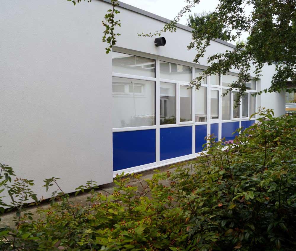 School Refurbishment - Waller Glazing Services in Kent