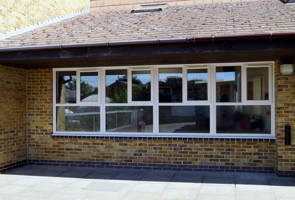 THOMAS AVELING SCHOOL UPVC WINDOW INSTALLATION: ROCHESTER, KENT