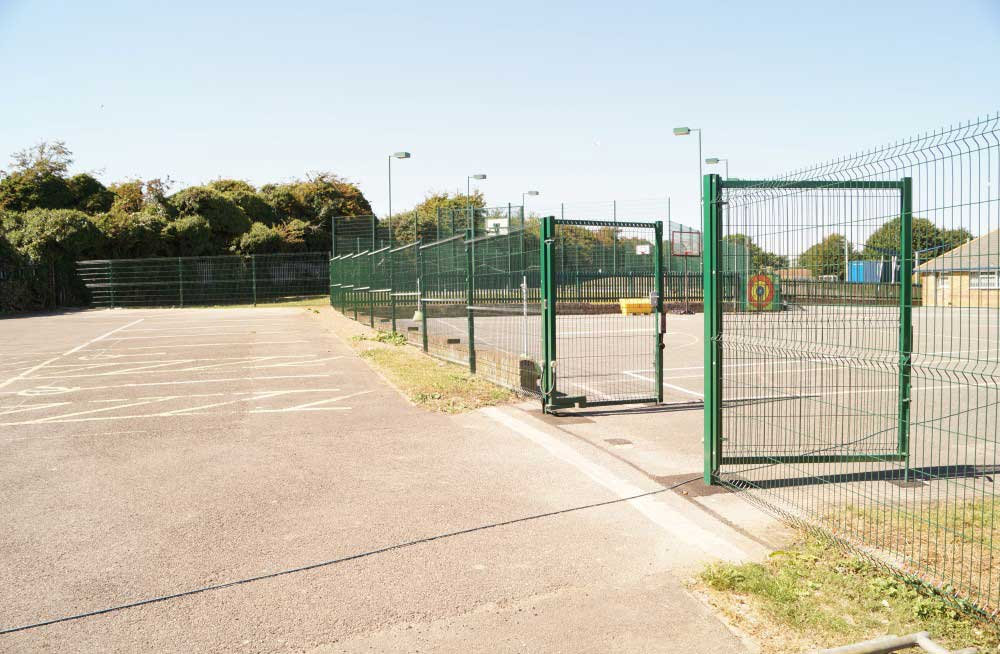 Fencing - Waller School Building Services Kent