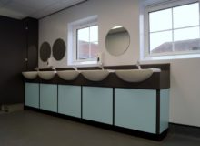 School Toilet Refurbishments - Waller Education Building Services