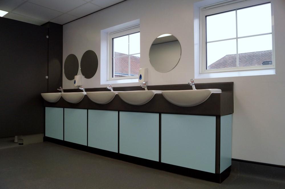 School Toilet Refurbishments - Waller Education Building Services