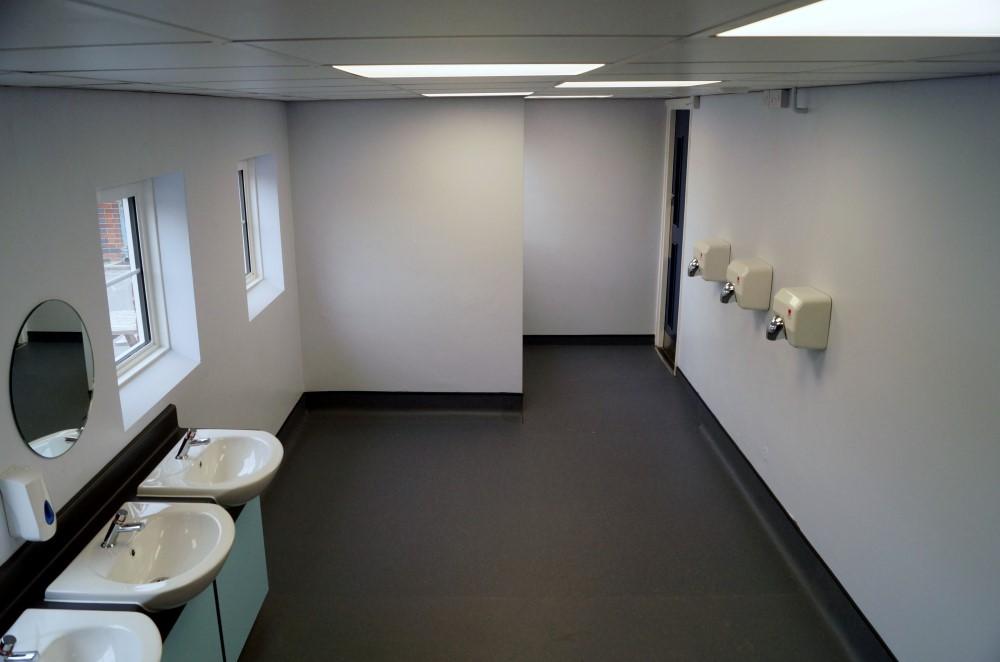 School Toilet Refurbishments - Waller Building Services - School Refurbishment in Kent