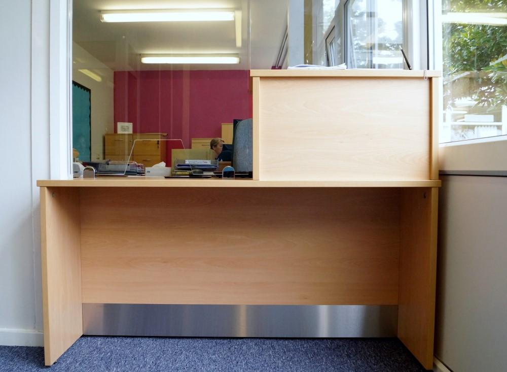 Waller Building Services - School Reception Refurbishment in Kent