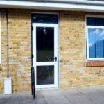 School UPVC Door Installation - Waller Glazing Services - Kent