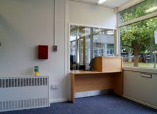 Reception Area-Waller Building Services
